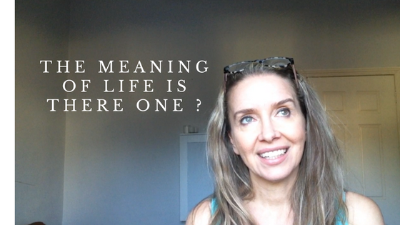 The meaning of life …what is that?