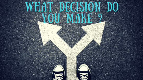 Why is it so hard to make a decision sometimes?