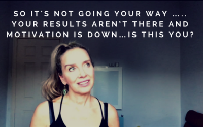 So its not going your way …..your results aren't there and motivation is down…is this you?