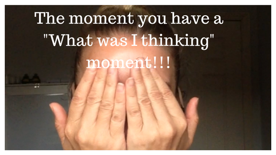 "Have you ever had a ""What the"" Moment?"
