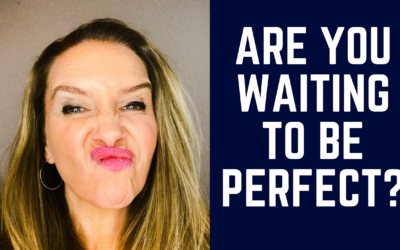How to Stop that Perfectionism little voice from taking over