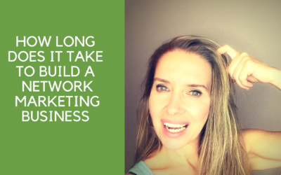How long does it take to build that business?